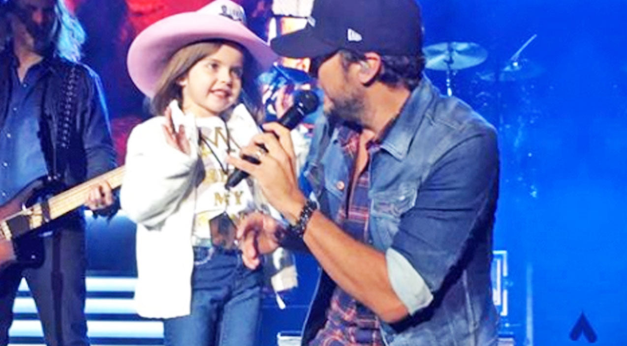 Modern country Songs | Luke Bryan Invites Shy Little Girl On Stage, But Then She Shocks Everyone | Country Music Videos