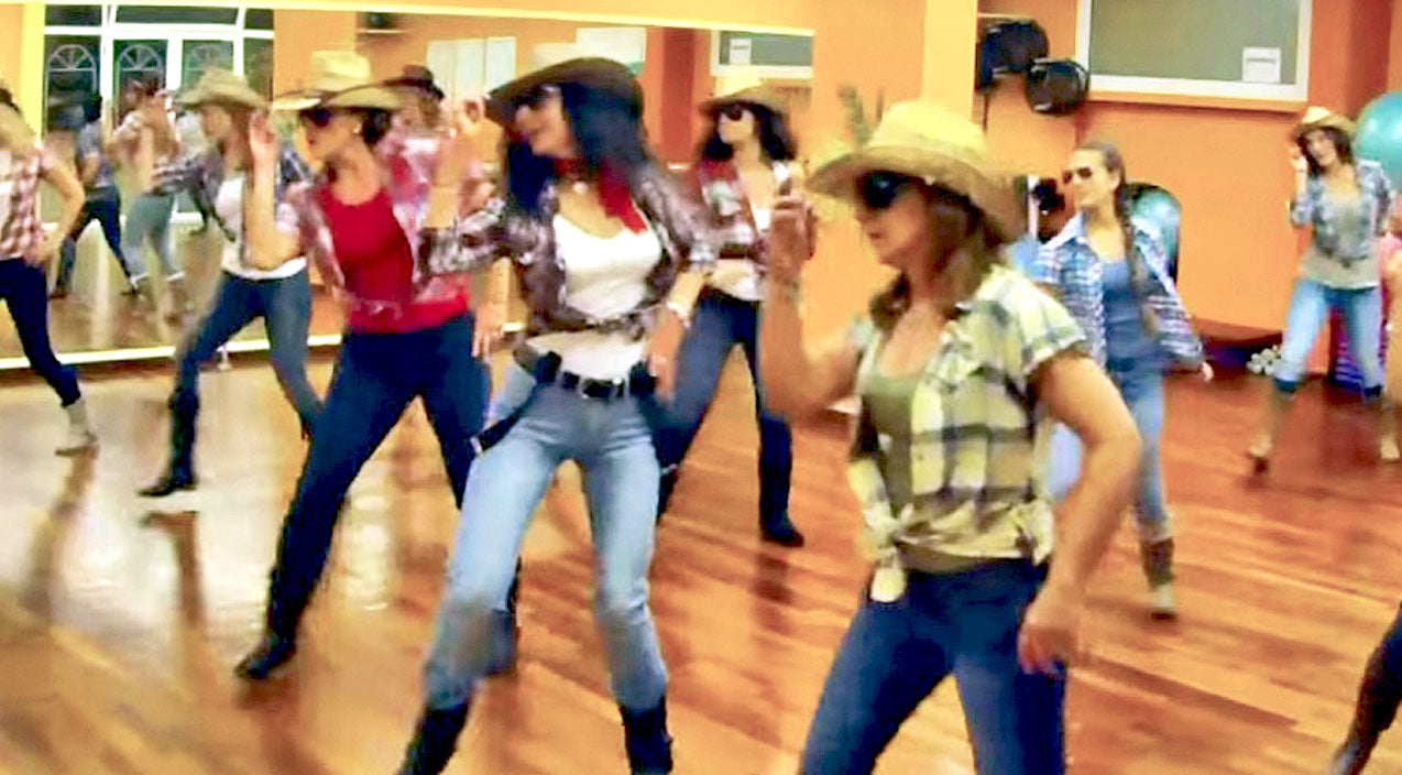 Modern country Songs | Cowgirls Kick Up Their Heels In Boot-Stompin' Brooks & Dunn Line Dance | Country Music Videos