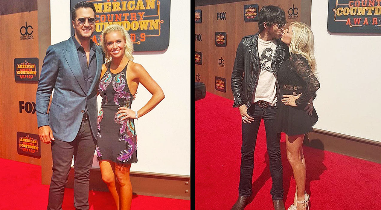 Top 5 Cutest Couples At The American Country Countdown Awards   Country Music Videos