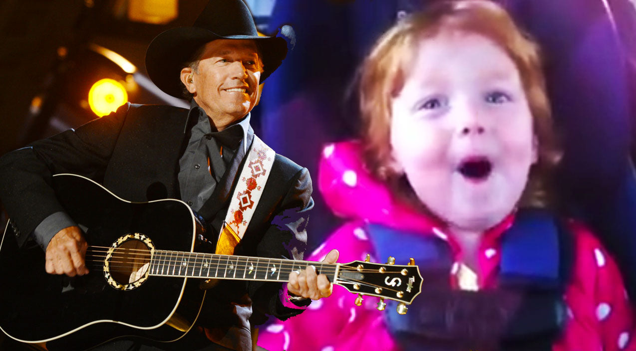George strait Songs | Precious 2-Year-Old Belts Out George Strait's