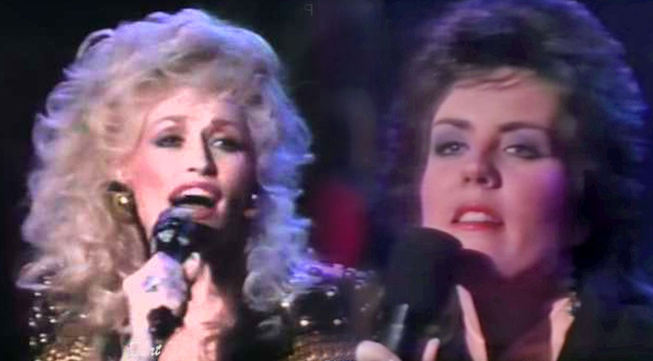 Holly dunn Songs | Dolly Parton & Holly Dunn Amaze With Soulful Rendition Of 'Daddy's Hands' | Country Music Videos