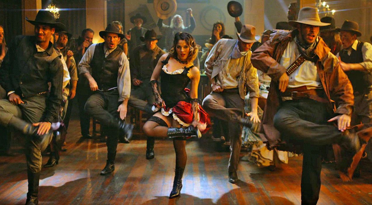 Cowboys & Outlaws Get Rough & Rowdy During Epic Dance Battle | Country Music Videos