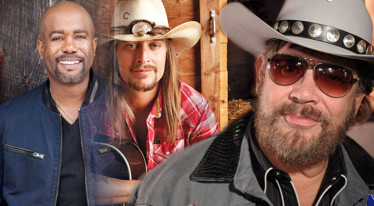 Kid rock Songs | Country Stars Join Darius Rucker In An Exciting Version of 'Family Tradition'! (VIDEO) | Country Music Videos