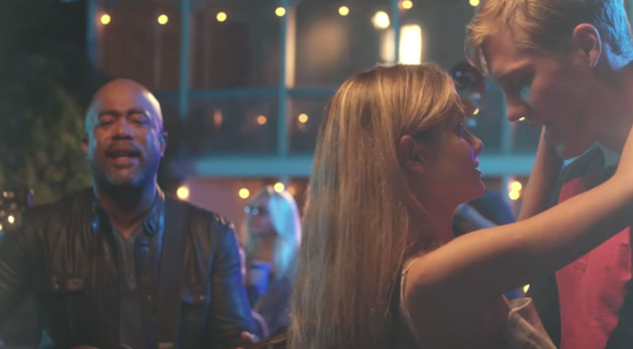 Darius Rucker Will Have You Falling In Love 'For The First Time' With Romantic Music Video   Country Music Videos