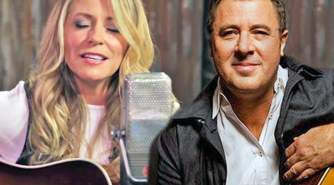 Vince gill Songs | 'Strawberry Wine' Singer Beautifully Covers Vince Gill's Romantic Ballad 'Look At Us' | Country Music Videos