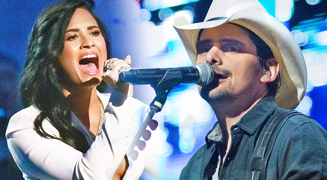 Modern country Songs | Pop Star Demi Lovato Goes Country In Brad Paisley's Sexy New Single 'Without A Fight' | Country Music Videos