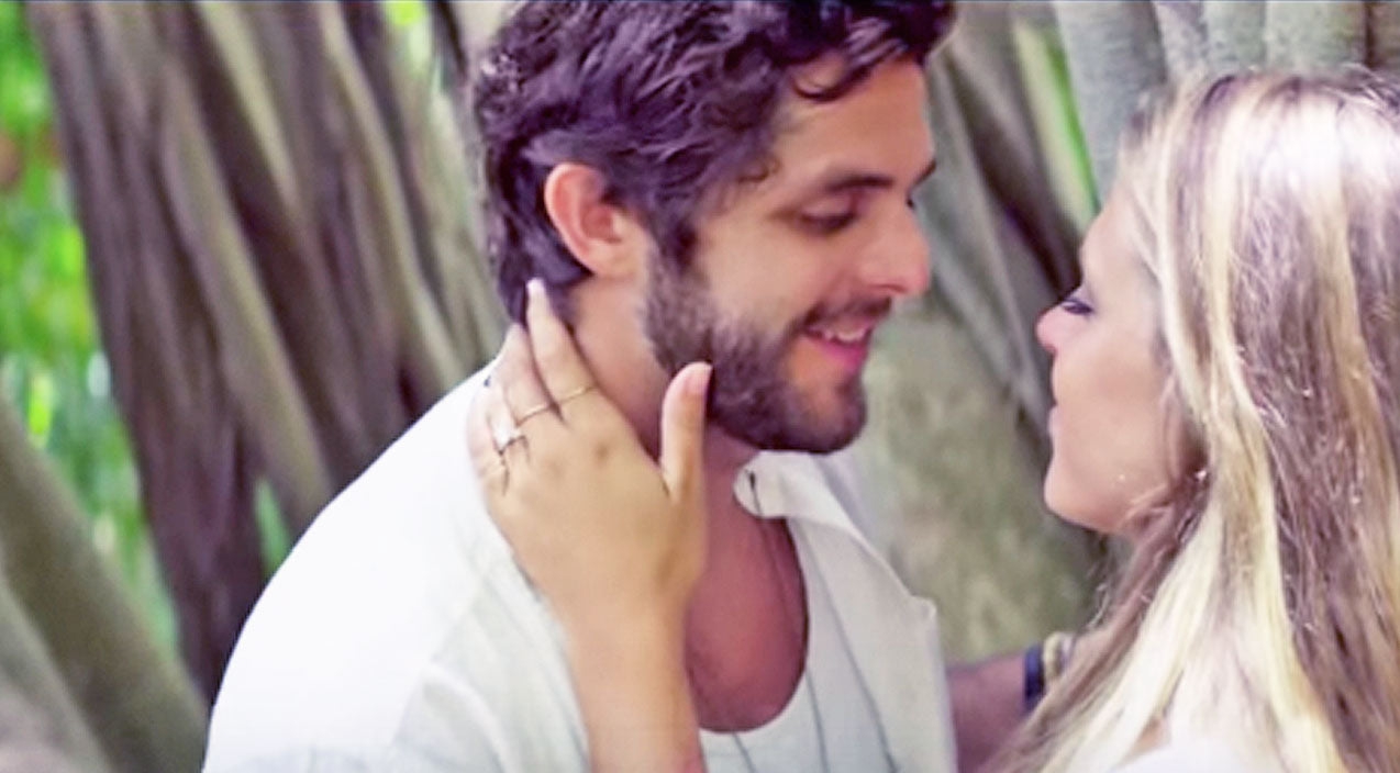 Thomas rhett Songs | Thomas Rhett's Love For His Wife Shines Through In Swoon-Worthy 'Die A Happy Man' | Country Music Videos