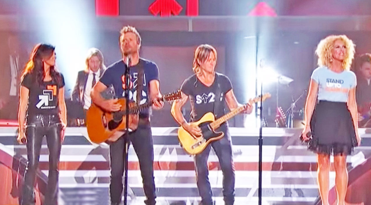 Modern country Songs | Keith Urban, Dierks Bentley, & Little Big Town Deliver Moving David Bowie Tribute | Country Music Videos