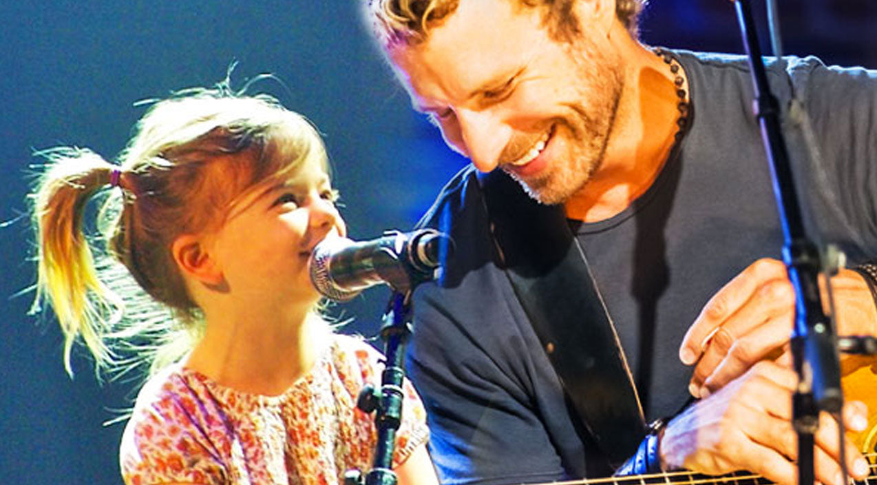 Dierks bentley Songs | Dierks Bentley Brings Adorable Daughter Onstage For