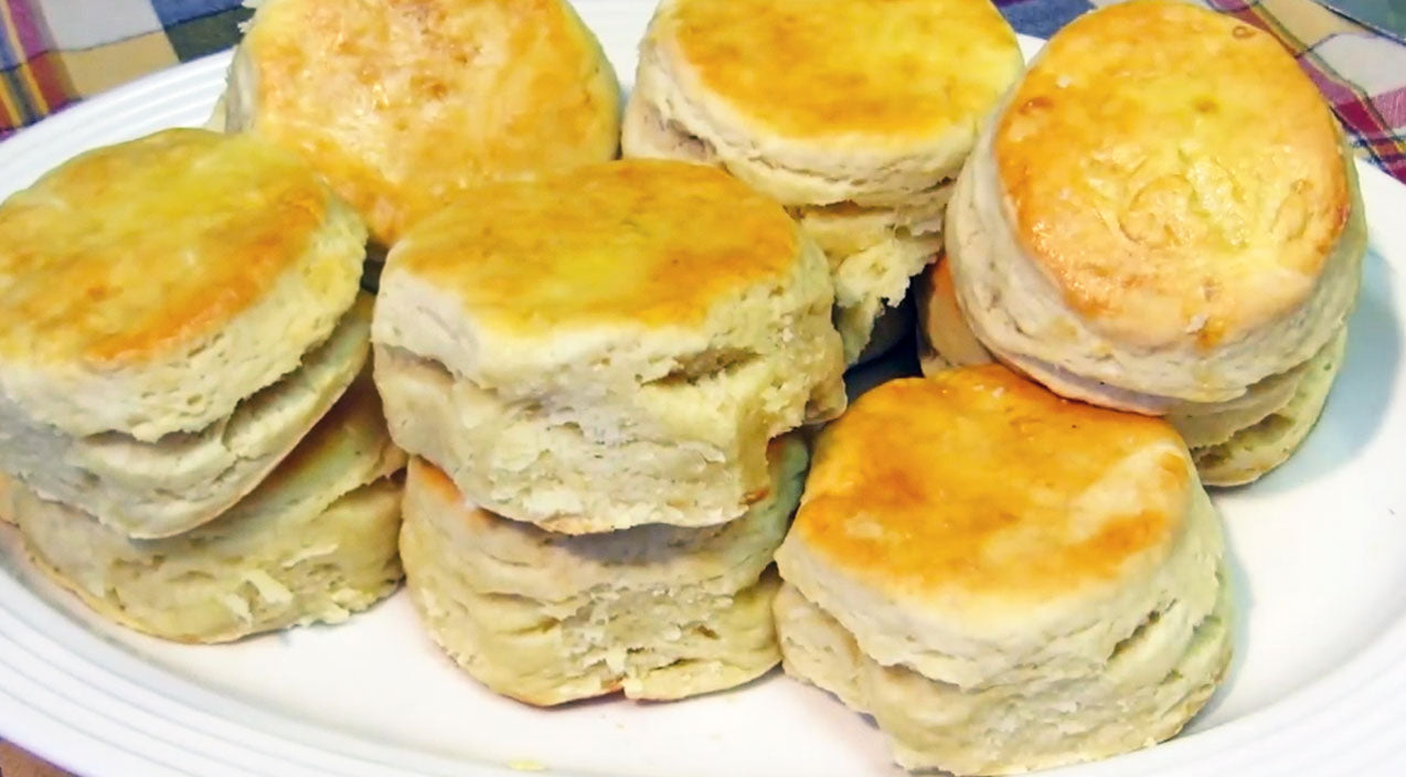 Diy Songs | DIY: Delicious Melt-In-Your-Mouth Homemade Flaky Biscuits (WATCH) | Country Music Videos