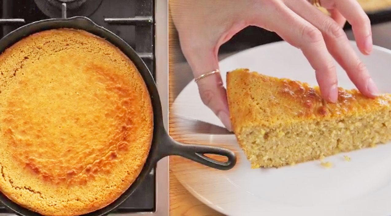 Diy Songs | DIY: Skillet Cornbread Just Like Grandma Used to Make (WATCH) | Country Music Videos
