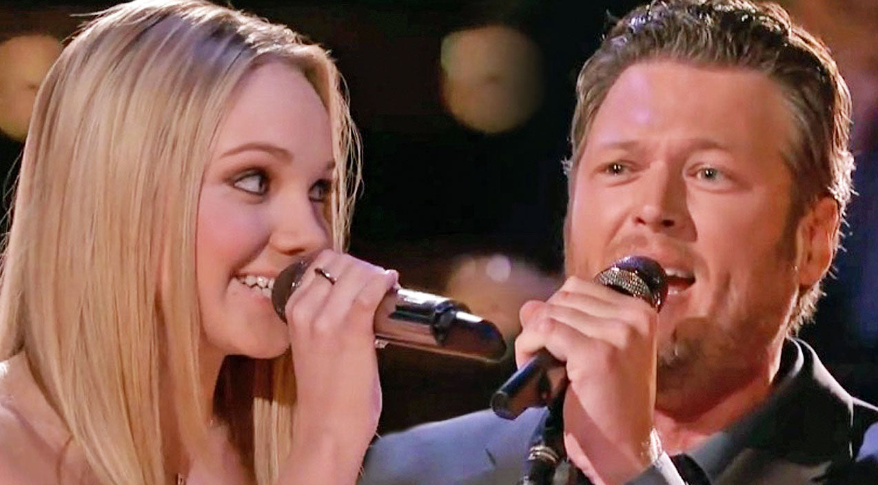 The voice Songs | Blake Shelton & Danielle Bradbery Dazzle In Duet Of 'Timber, I'm Falling In Love' | Country Music Videos