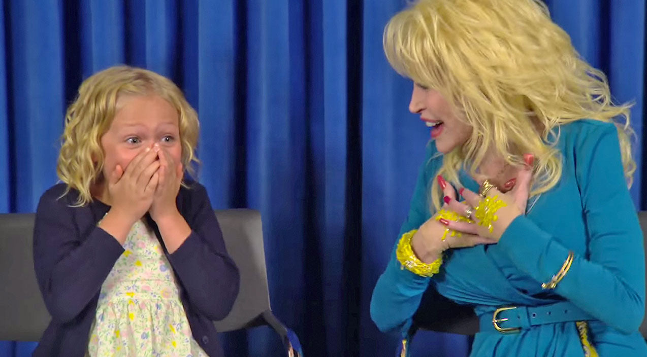 Dolly parton Songs | Dolly Parton Surprises Child Actor With Starring Role In 'Coat Of Many Colors,' And It's Adorable! | Country Music Videos