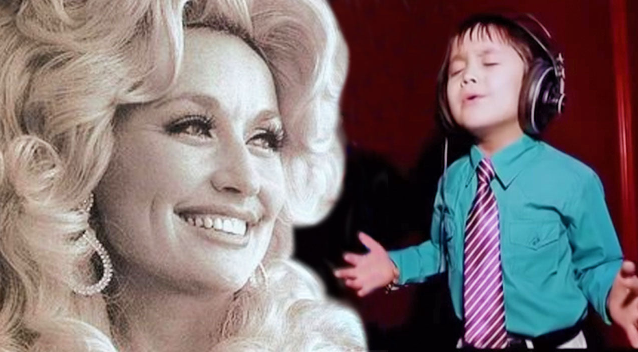 Dolly parton Songs | Adorable 4-Year-Old Passionately Sings Dolly Parton's