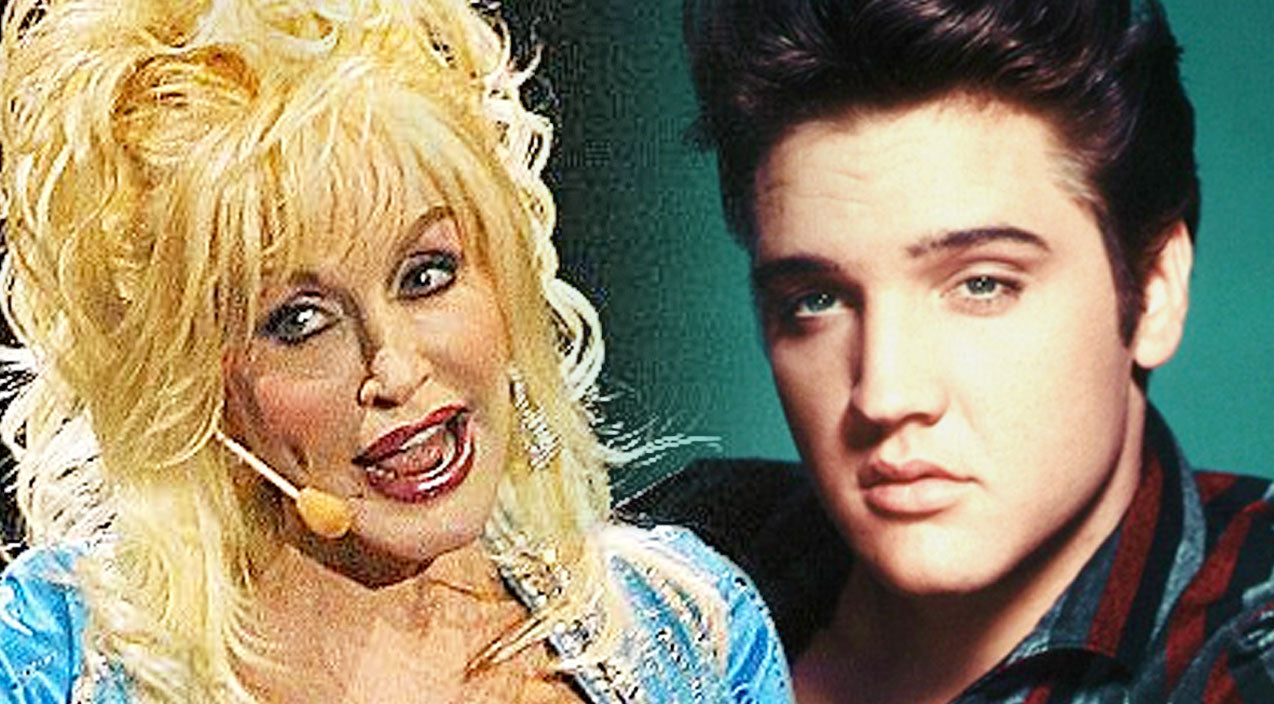 Elvis presley Songs | Crowd Erupts With Laugher When Dolly Parton Does A Hip-Swingin' Impression Of Elvis | Country Music Videos