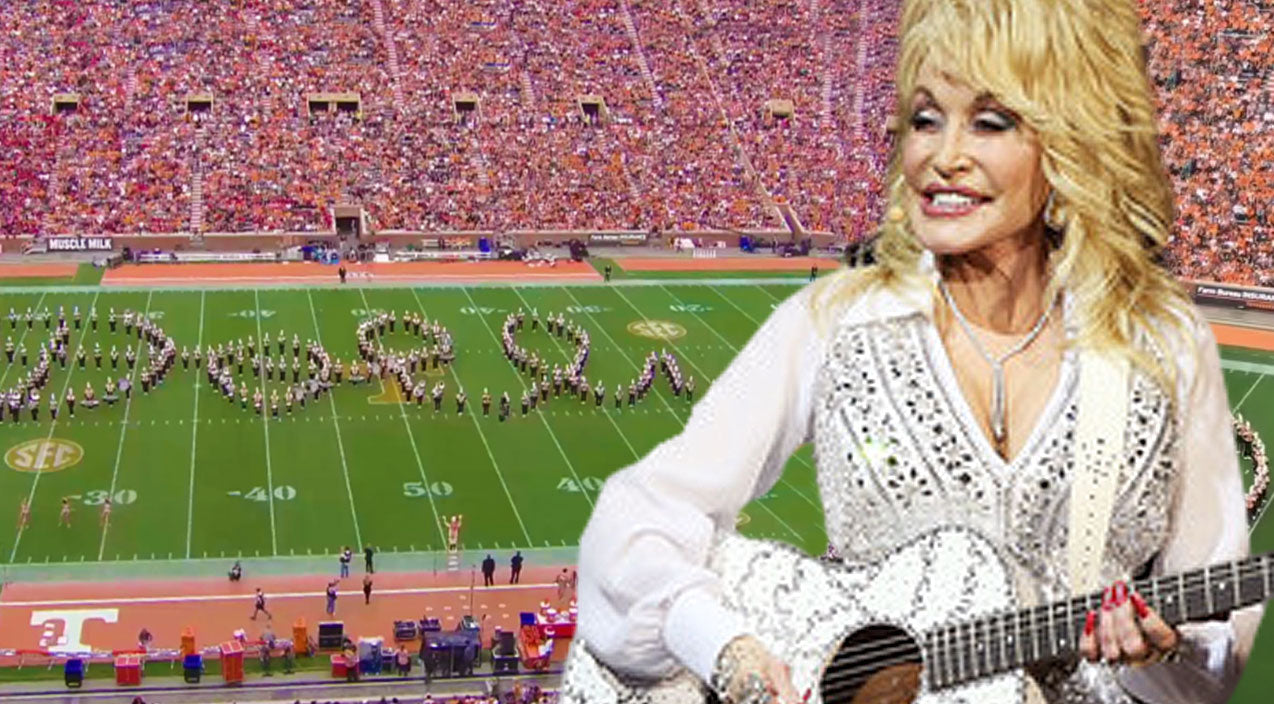 Dolly parton Songs | University of Tennessee's Marching Band Delivers Most Amazing Halftime Show To Dolly's Greatest Hits | Country Music Videos