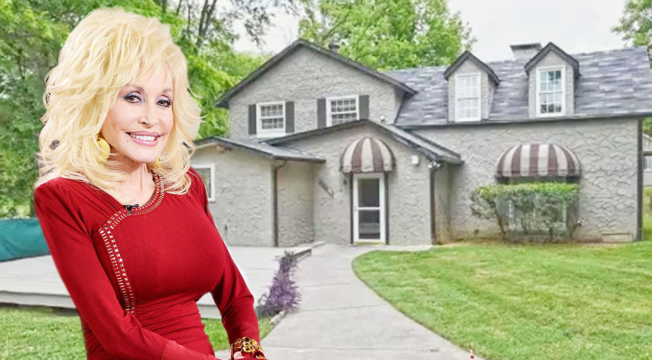 Dolly parton 39 s former home with husband carl dean up for for What is dolly parton s husband s name