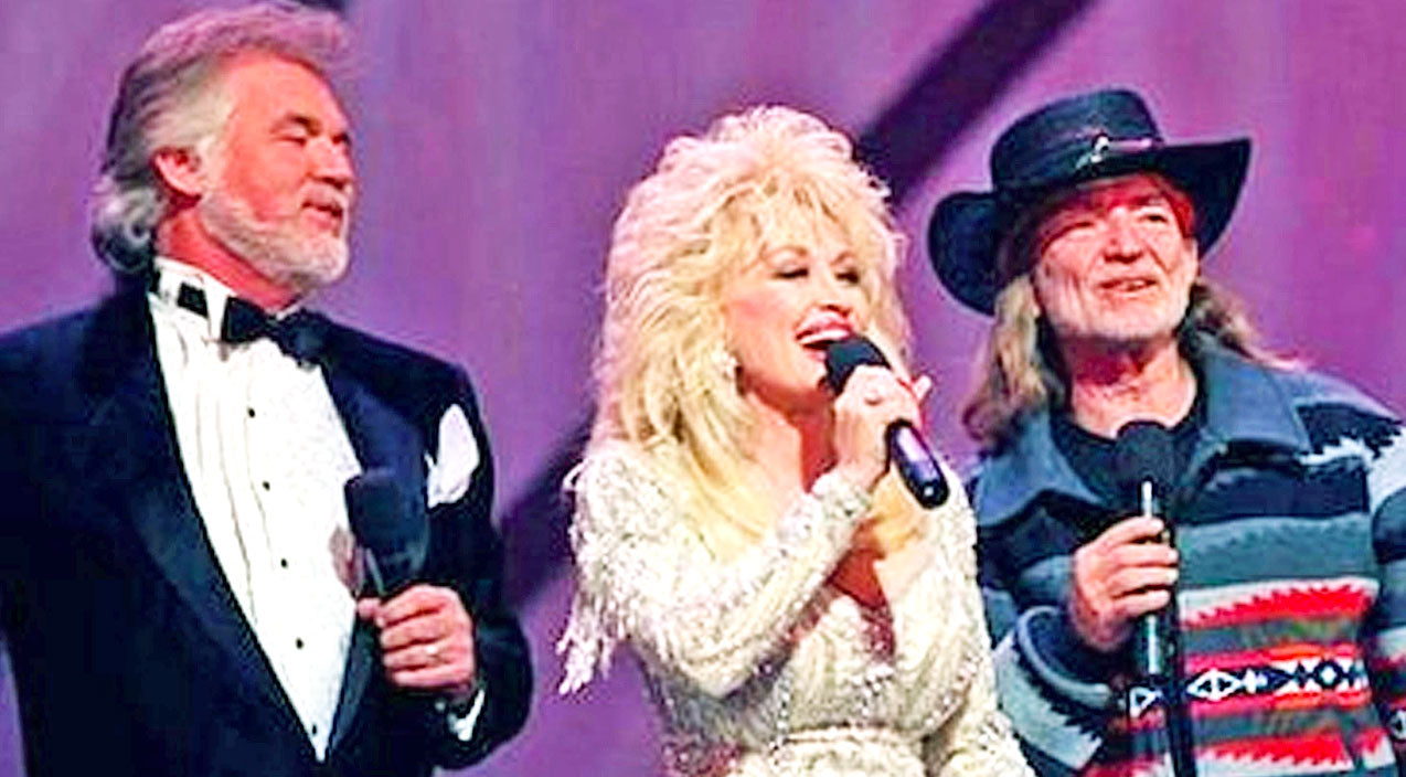 Willie nelson Songs | Willie Nelson, Dolly Parton, & Kenny Rogers Sing Each Other's Hits, And It's Magical | Country Music Videos