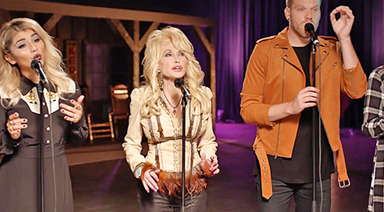 Pentatonix Songs | Dolly Parton Reunites With Pentatonix For Chilling 'Silent Night' Special | Country Music Videos