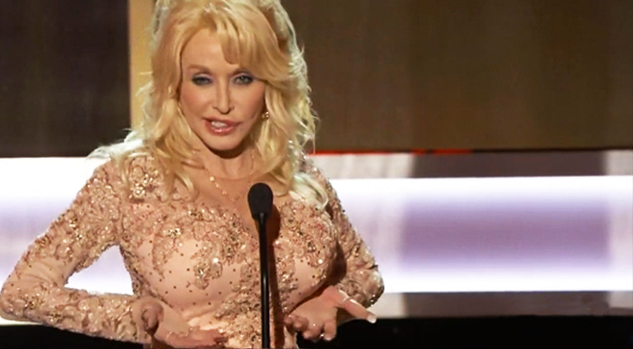 Dolly parton Songs | Dolly Parton Busts Out Hysterical Speech At SAG Awards | Country Music Videos