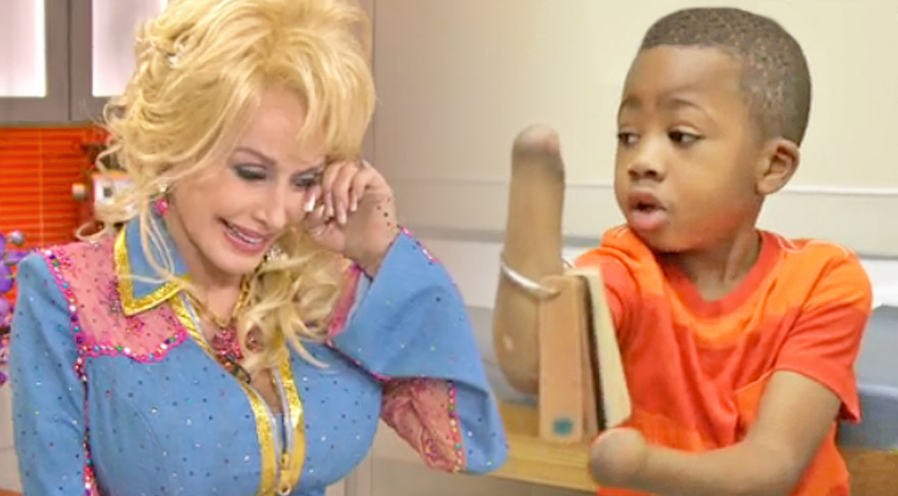 Dolly parton Songs | Dolly Parton Is Moved To Tears On Live TV By This Incredible Little Boy | Country Music Videos