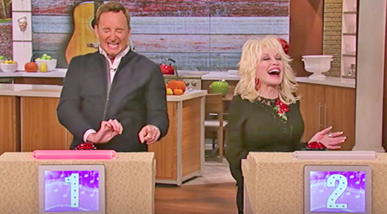 Dolly parton Songs   Dolly Parton Goes Up Against Super Fan In Hysterical Trivia Game About Her Own Life   Country Music Videos