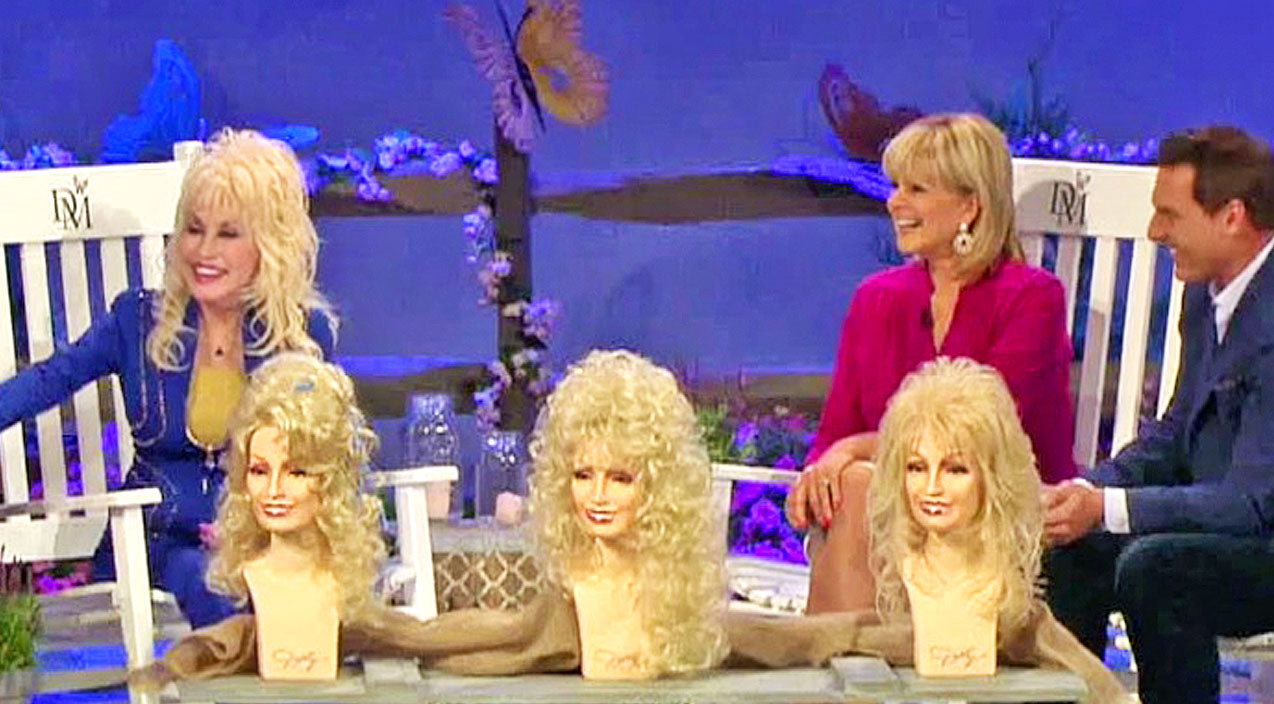 Dolly parton Songs | Dolly Parton Shows Off Her Favorite Wigs, And It's HYSTERICAL! | Country Music Videos