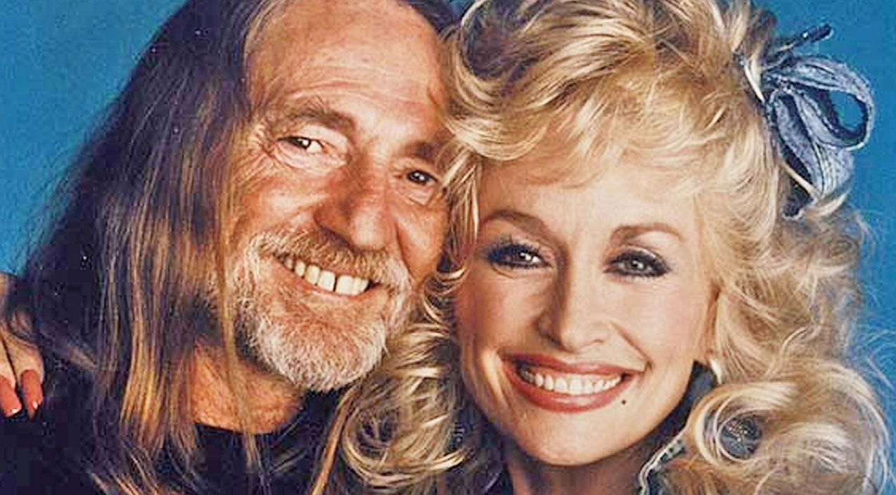 Willie nelson Songs | Watch Willie Nelson Sweetly Sing To Dolly Parton For Her Birthday | Country Music Videos