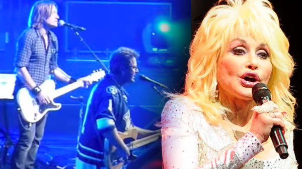 Dolly Parton, Vince Gill & Keith Urban - He Stopped Loving Her Today (Live) | Country Music Videos