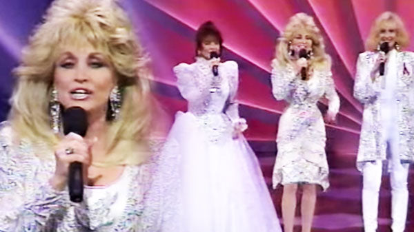 Dolly parton Songs | Dolly Parton - Silver Threads and Golden Needles (feat. Tammy Wynette & Loretta Lynn) (VIDEO) | Country Music Videos
