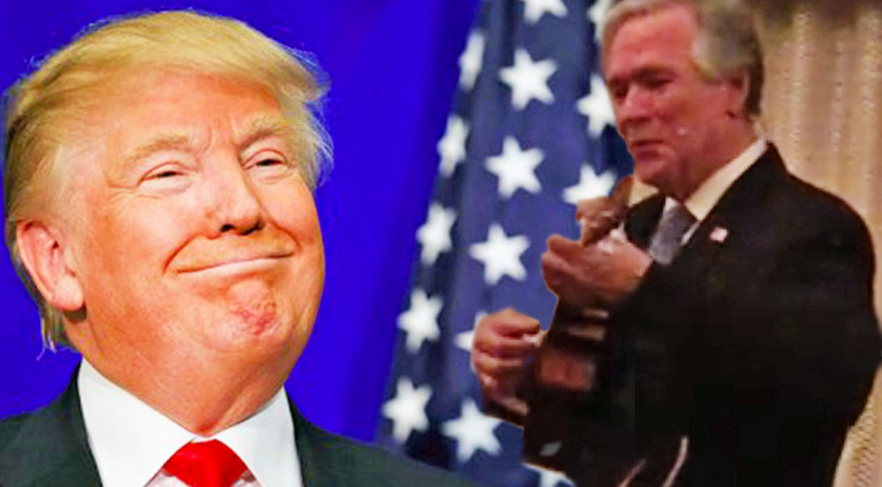 Leonard cohen Songs | George W. Bush Impersonator Delivers Trump-Inspired Parody Of 'Hallelujah' | Country Music Videos