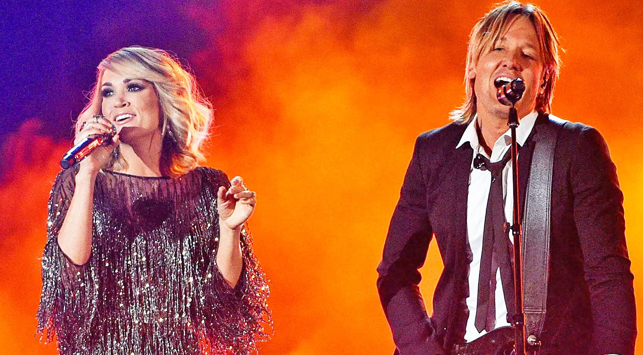 Modern country Songs | Keith Urban & Carrie Underwood Spice Up The ACMs With Killer Duet On 'The Fighter' | Country Music Videos
