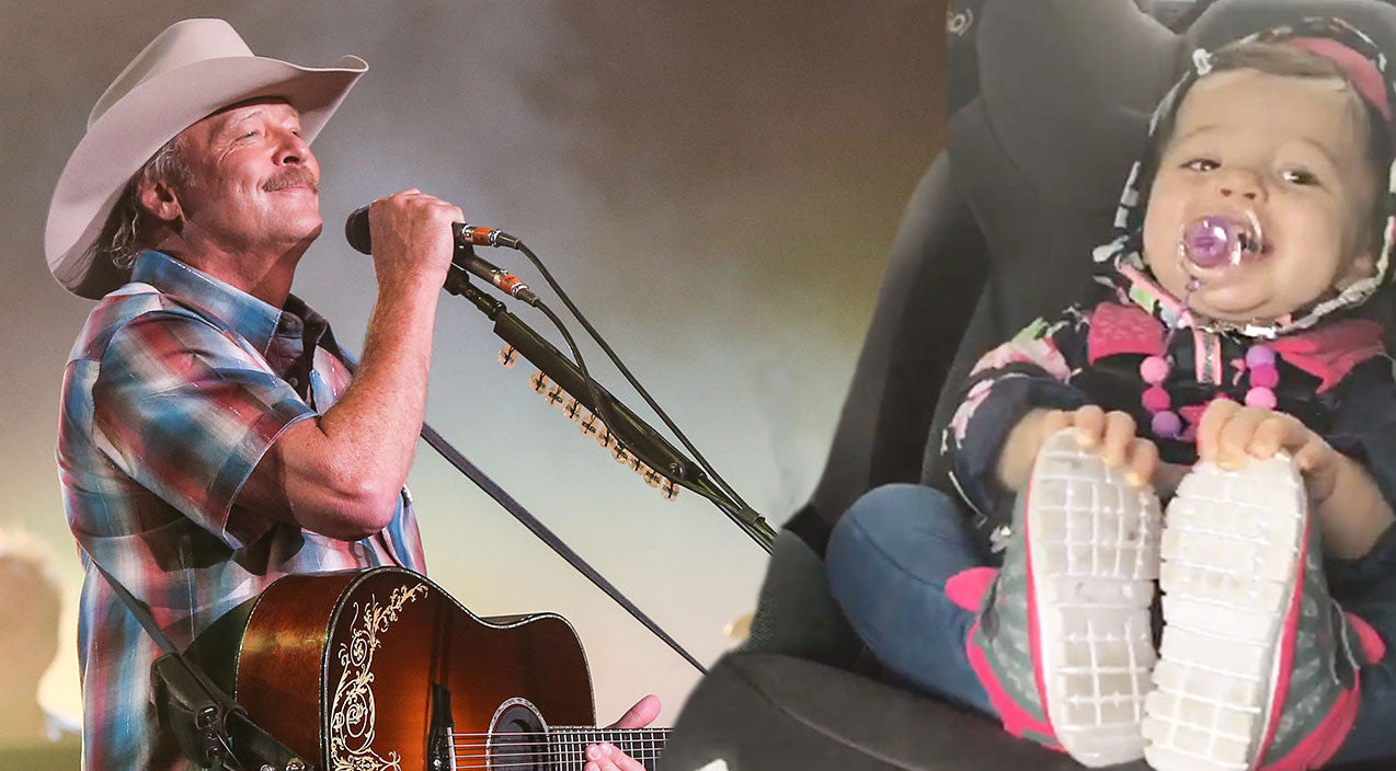 Modern country Songs | Baby Breaks It Down In Car Seat To Alan Jackson's 'Drive' | Country Music Videos