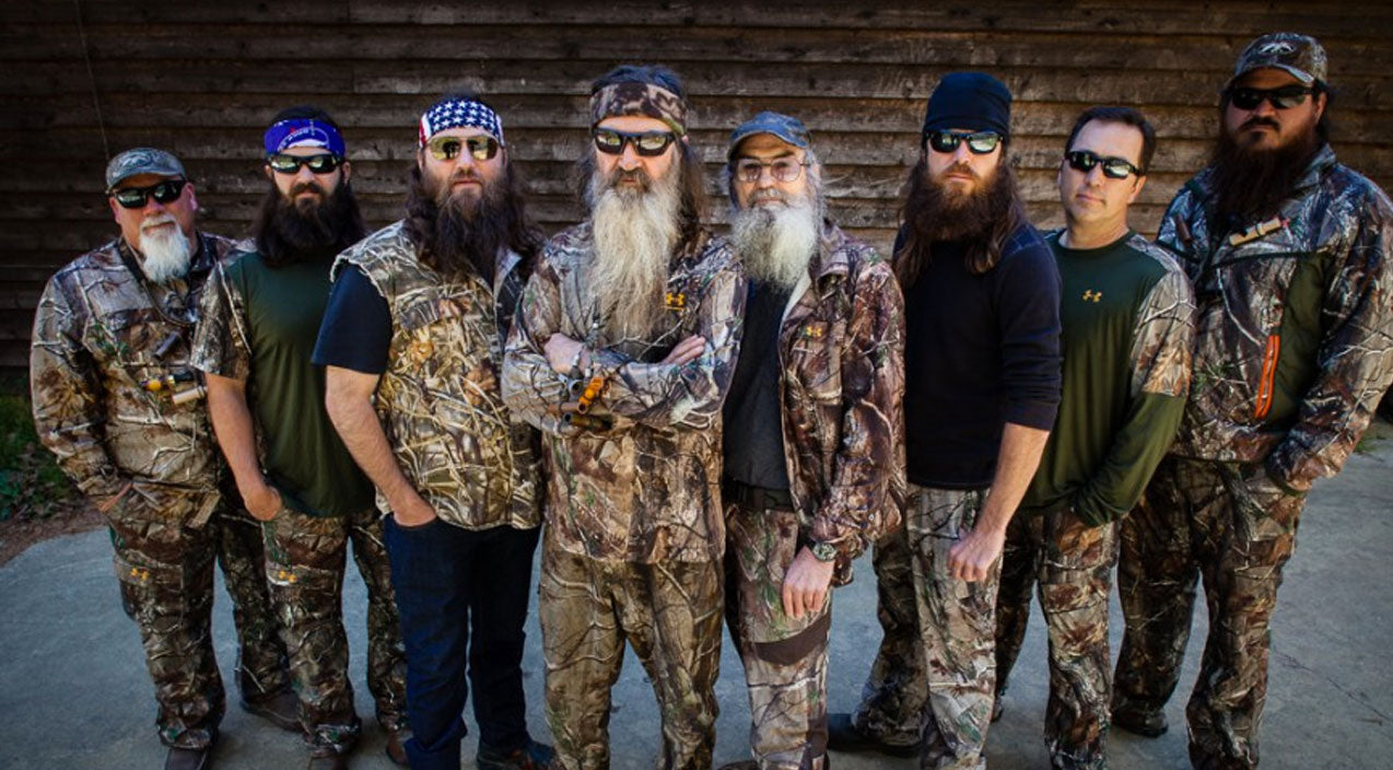 Duck dynasty Songs | 'Duck Dynasty' Guys Get Fashion Makeovers, Ditch Their Signature Looks | Country Music Videos