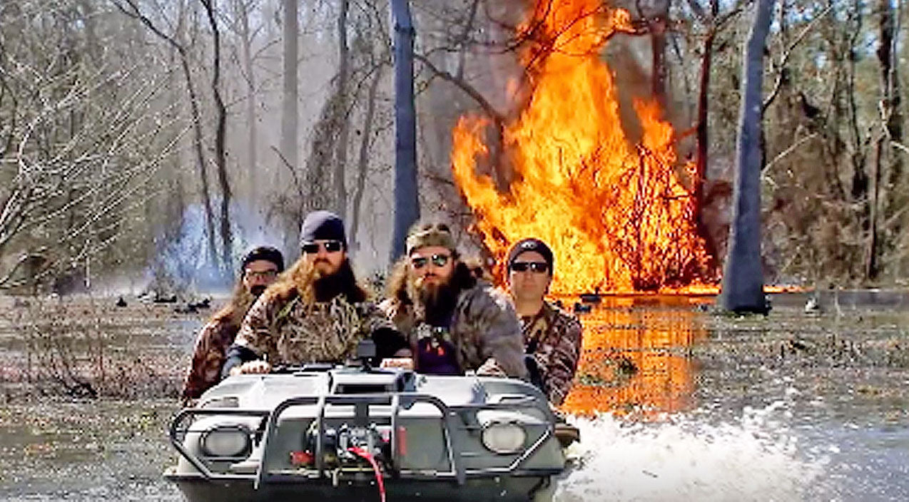 Duck dynasty Songs | Duck Dynasty's Preview For Season 10 Will Blow You Away - Literally! | Country Music Videos