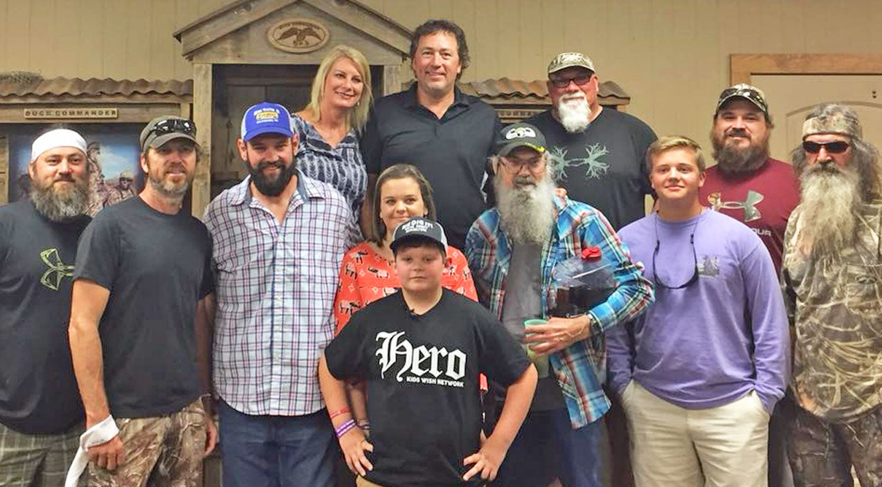 Duck dynasty Songs | Boy With Life-Threatening Diseases Gets Biggest Wish Granted By 'Duck Dynasty' Stars | Country Music Videos