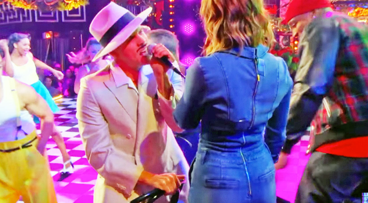 Dustin lynch Songs | Dustin Lynch Gives Cassadee Pope A Chair Dance In Sexy New Lip Sync Battle | Country Music Videos
