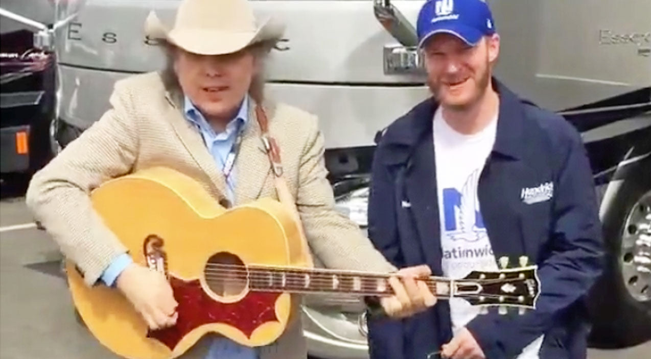 Dwight yoakam Songs | Unlikely Musical Duo, Dwight Yoakam & Dale Earnhardt Jr., Belt Out 'Fast As You' | Country Music Videos