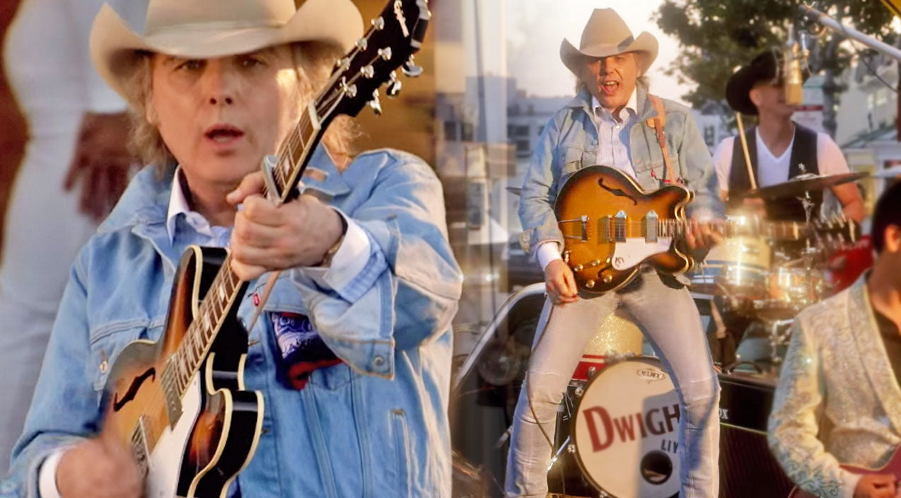 Dwight yoakam Songs | Dwight Yoakam Barely Dodges Traffic In New Music Video For 'Liar' | Country Music Videos