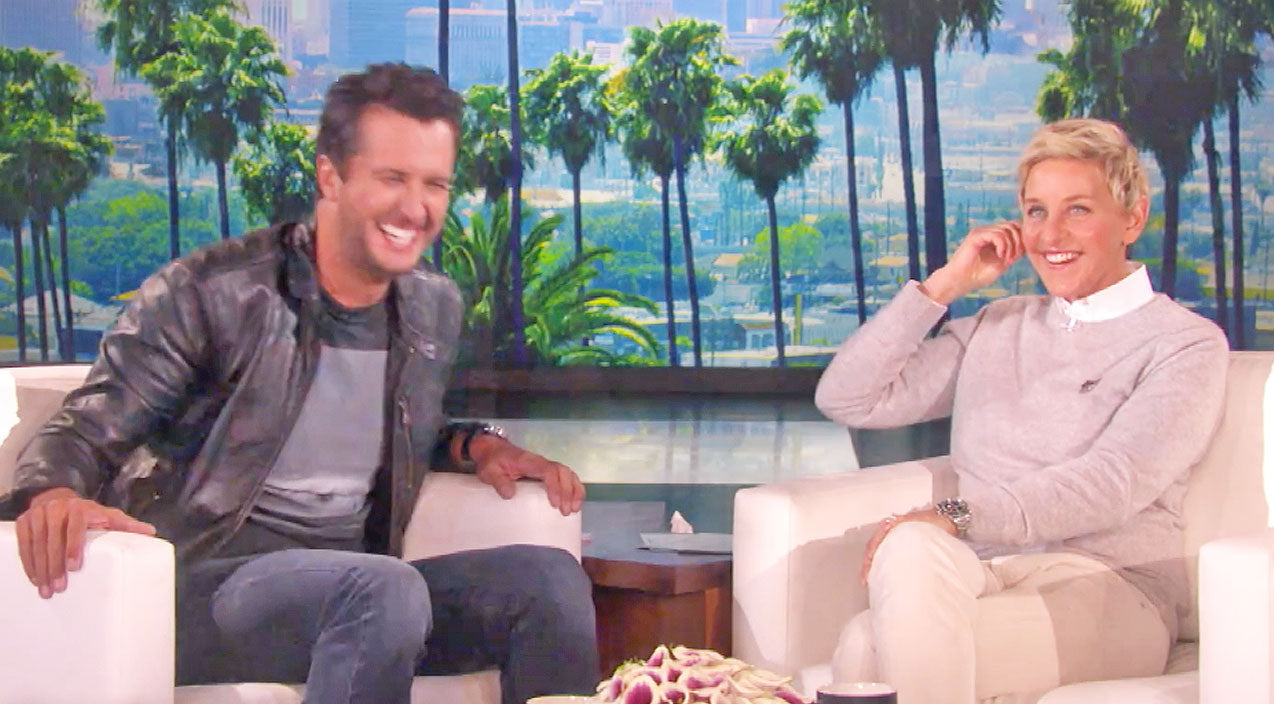 Luke bryan Songs | Luke Bryan Shares The Rules For Touching His Booty On Ellen | Country Music Videos