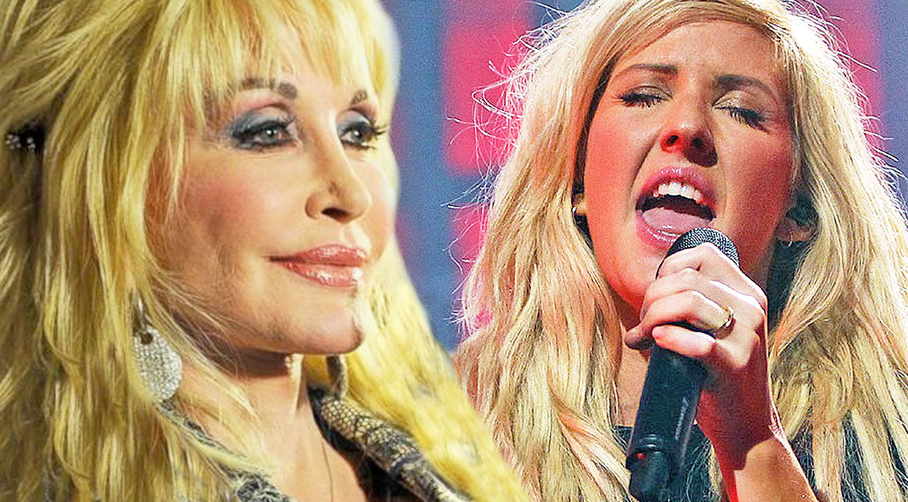 Pop Star Ellie Goulding Puts Unique Spin To A Dolly Parton Classic | Country Music Videos