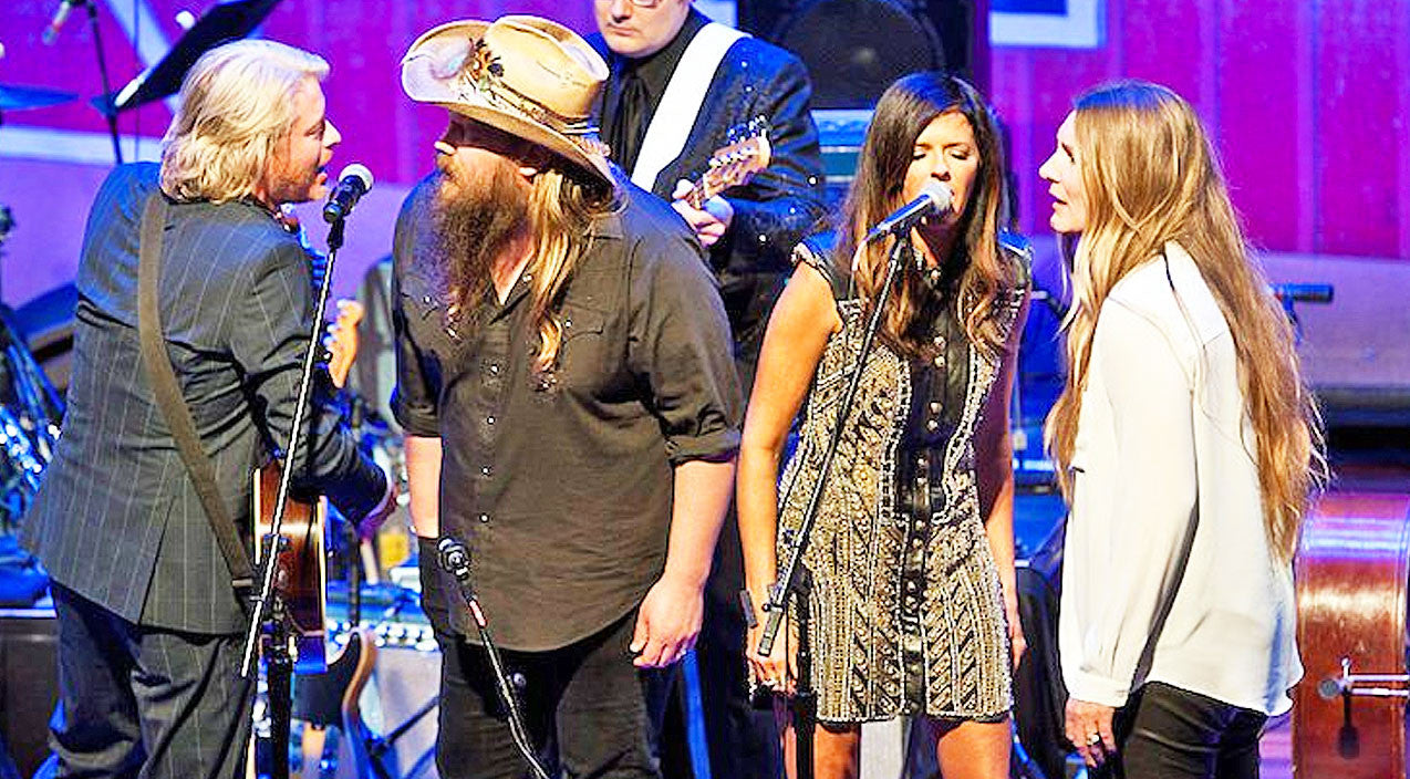 Oak ridge boys Songs | Chris Stapleton & His Wife Morgane Join Little Big Town For Intoxicating 'Elvira' | Country Music Videos