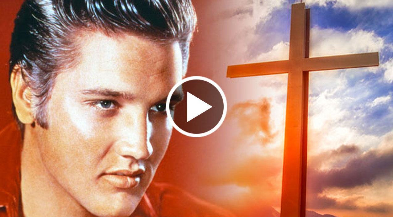 Elvis presley s rendition of amazing grace will bring you to your kn