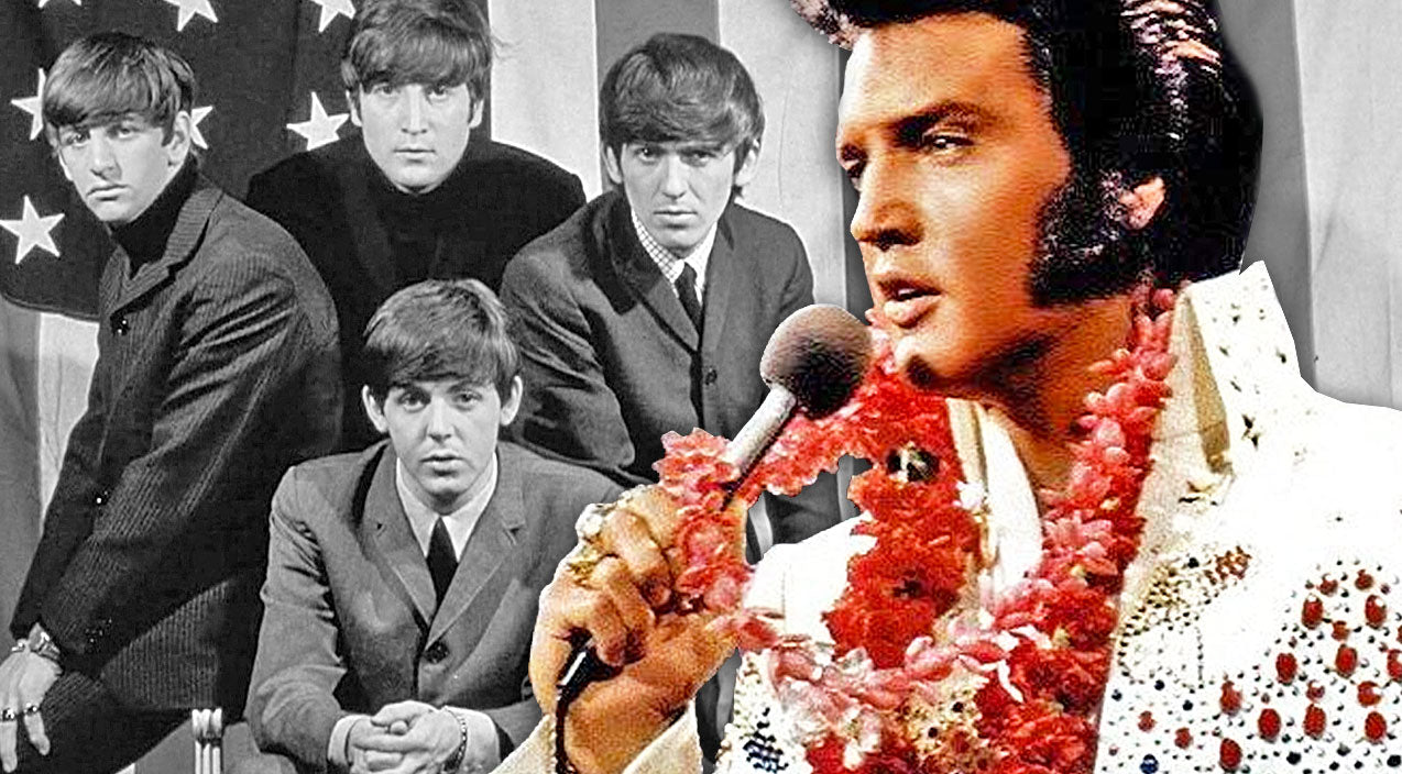 The beatles Songs | Elvis Presley Rockin' These Classic Beatles Hits Will Knock You Off Your Feet! | Country Music Videos