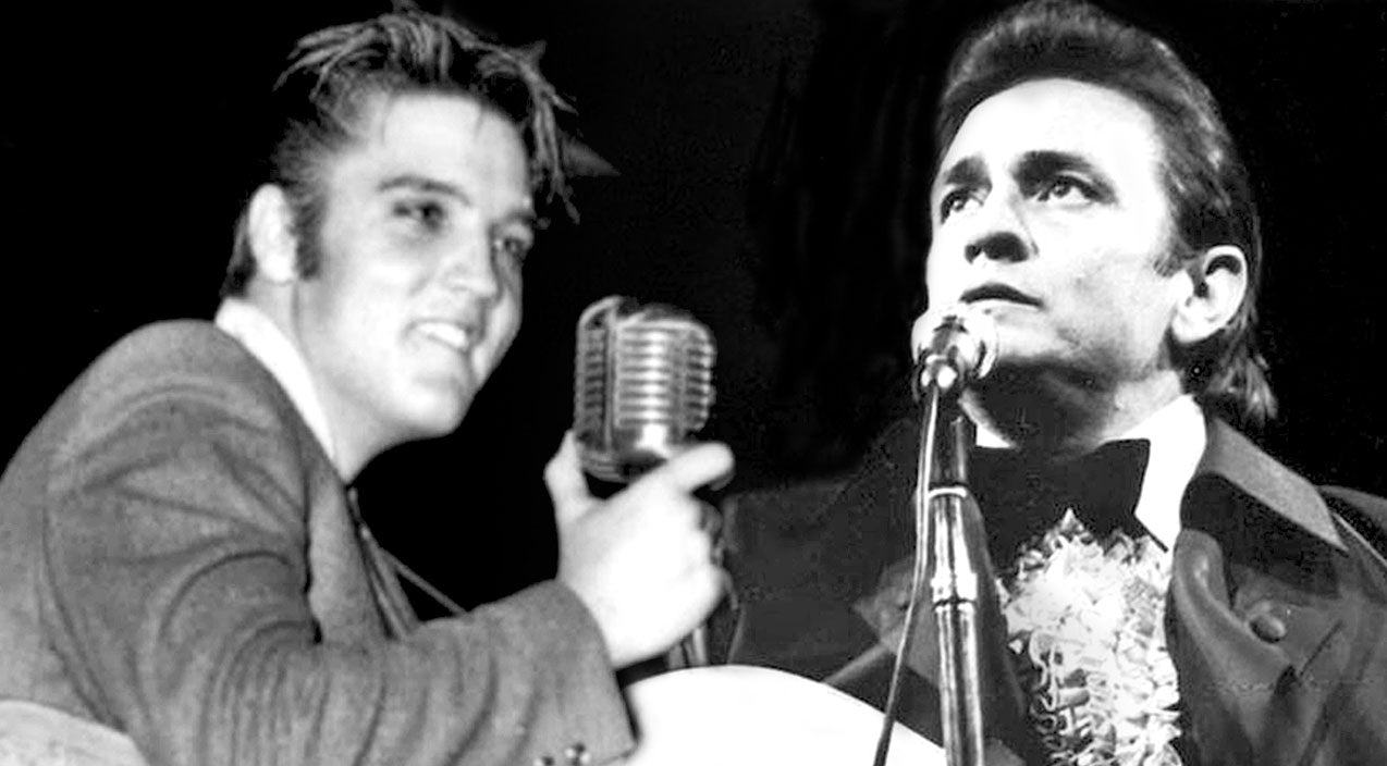 Johnny cash Songs | Elvis & Johnny Cash Team Up To Record Beloved Gospel Song From Their Childhood | Country Music Videos