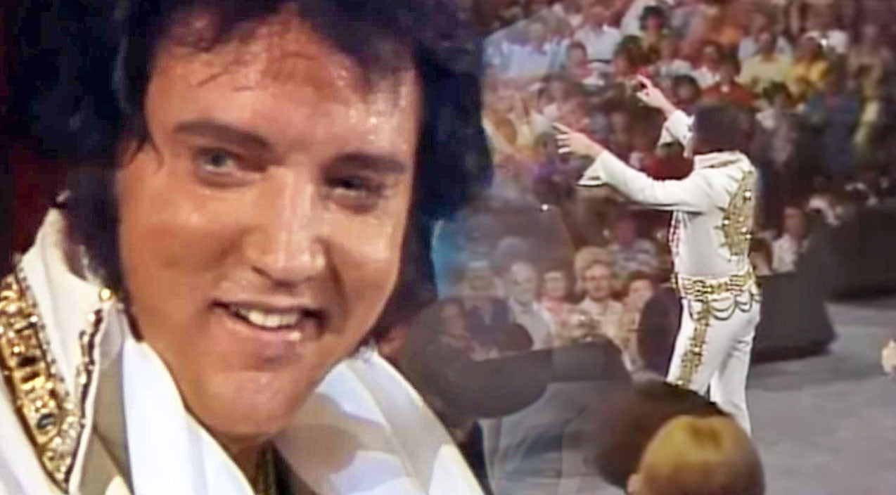 Elvis presley Songs | Elvis Presley Sings 'Unchained Melody' During Last Recorded Concert | Country Music Videos