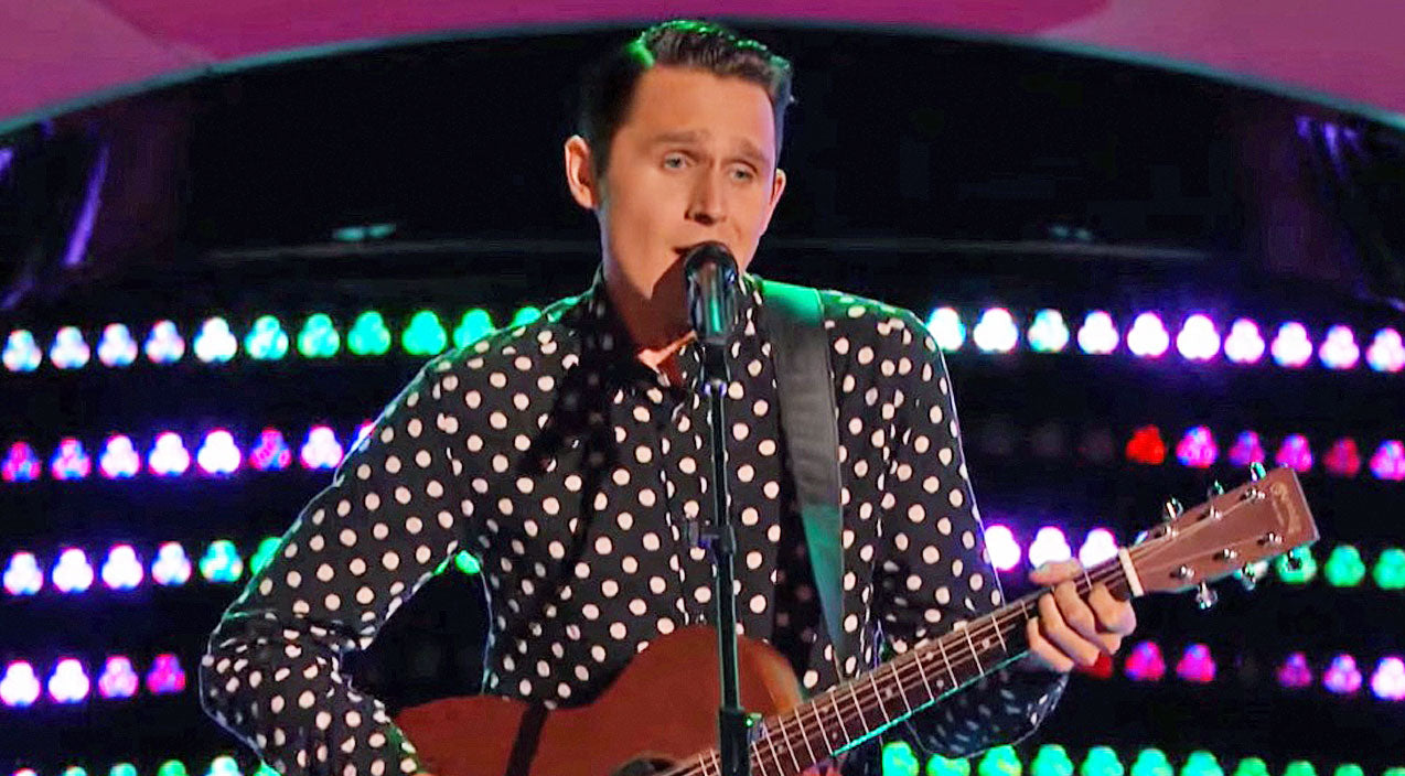 The voice Songs | Rockabilly Singer Brings Elvis To 'The Voice' With Incredible Performance | Country Music Videos