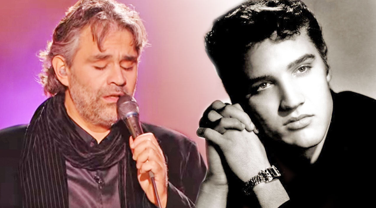 Elvis presley Songs | Andrea Bocelli's Dreamy Ode To Elvis' 'Can't Help Falling In Love With You' Will Give You Chills | Country Music Videos