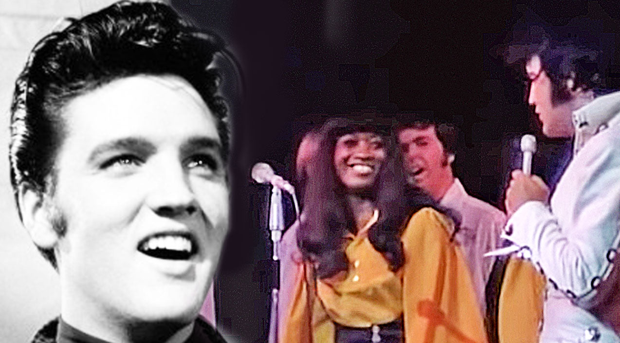 Elvis presley Songs | Look Closely At Elvis Presley, Playfully Scaring His Background Singer! (HILARIOUS!) | Country Music Videos