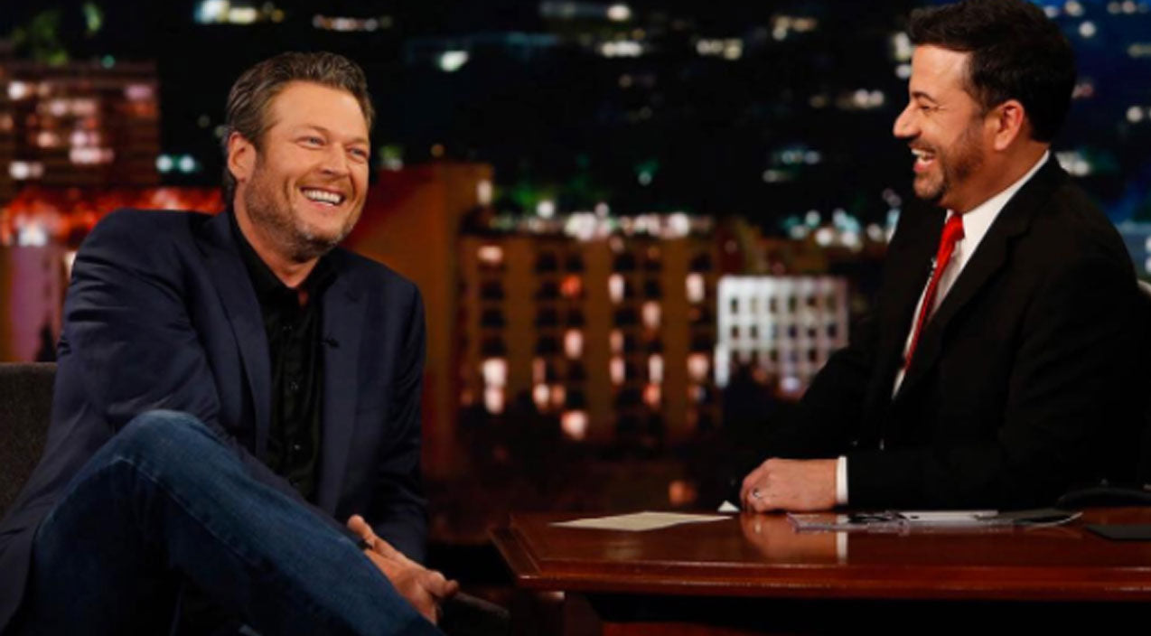 Blake shelton Songs | Jimmy Kimmel Reveals The Most 'Embarrassing' Thing Ever About Blake Shelton | Country Music Videos